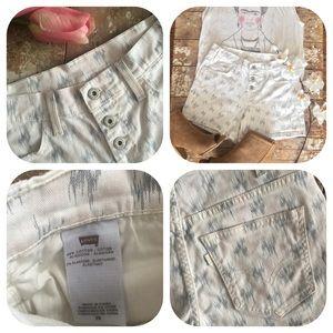 Levi's Shorts - Levi's Printed Shorts